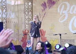 Aleyna Tilki Bakıda konsert verdi - FOTO