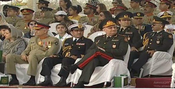 Azərbaycan hərbçiləri Pakistanda hərbi paradda - FOTO