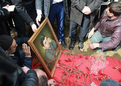 Aydın Xırdalanlı torpağa tapşırıldı - YENİLƏNİB - FOTO