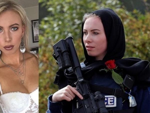 Yeni Zelandiya terrorunun qurbanlarına sayğı göstərən qadın polis dünya gündəmində... - FOTO
