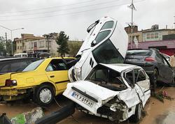 İranın Şiraz şəhərində 11 nəfər öldü - FOTO