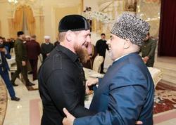 Şeyxülislam Kadırovla görüşdü - FOTO