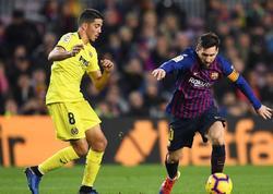 """""""Vilyarreal"""" - """"Barselona"""" oyunu 4:4 hesabı ilə bitdi, <span class=""""color_red"""">2 qol son saniyələrdə vuruldu</span>"""