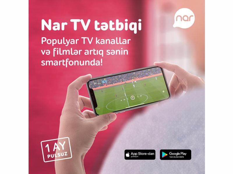 """""""Nar TV"""" ilə ən maraqlı filmlər və TV serialallar Azərbaycan dilində"""