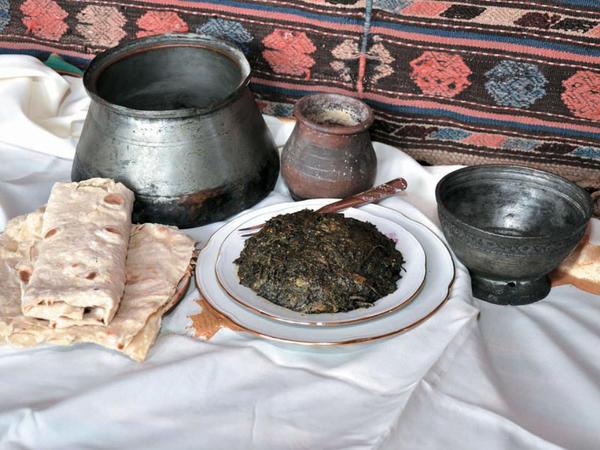 Naxçıvanın yaz yeməkləri - FOTO