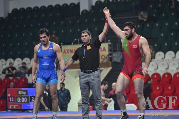 Şərif Şərifov Avropa Çempionatında qızıl medal qazandı