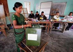 """Hindistanda parlament seçkiləri keçirilir - <span class=""""color_red"""">Tarixdə ən çox seçicinin qatıldığı seçki</span>"""