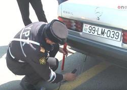 """Yol Polisi Sumqayıtda reyd keçirdi - <span class=""""color_red"""">50 avtomobil saxlanıldı - FOTO</span>"""