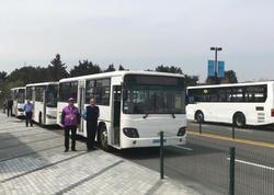 Bakıda 15 avtobusun son dayanacaq məntəqəsi dəyişdirildi - FOTO
