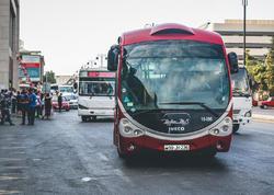 17 marşrut üzrə avtobusların hərəkətində DƏYİŞİKLİK ediləcək
