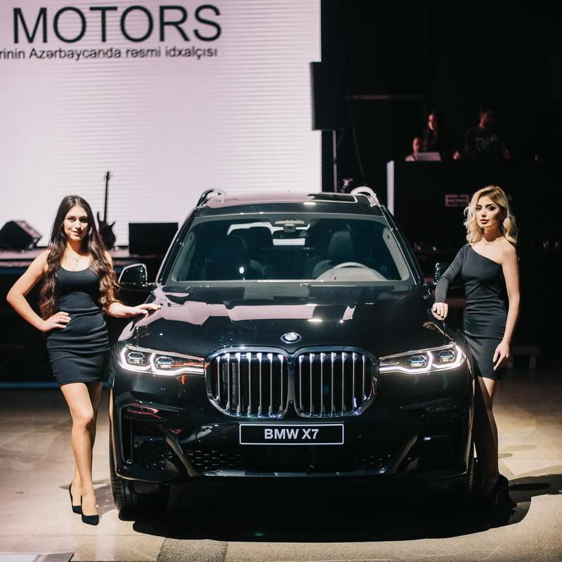 Lüks sinifinin yeni flaqmanlari BMW x7 və BMW 7-ci seriya avtomobillərinin təntənəli təqdimatı oldu