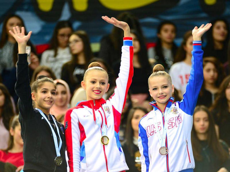 Rusiyalı gimnastlar Bakıda ən yaxşılar sırasında