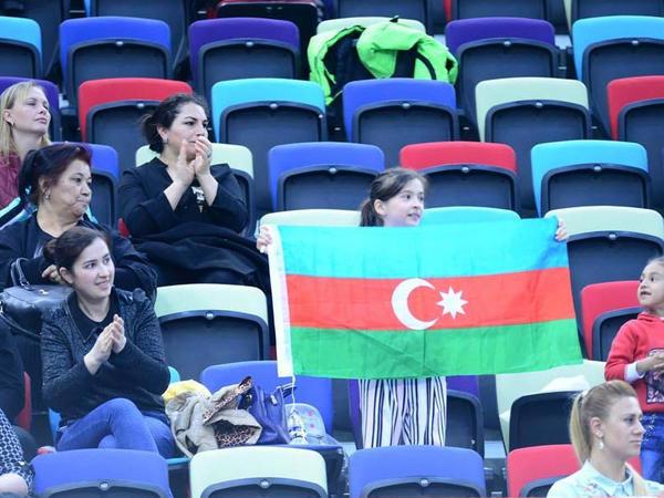 Nərminə Səmədova gürzlərlə hərəkətlərdə 2-ci AGF Junior Trophy turnirinin finalında