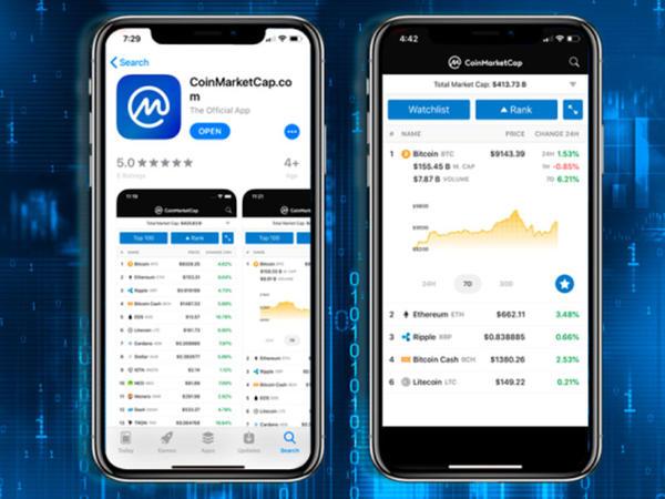 CoinMarketCap yeni mobil tətbiq buraxdı