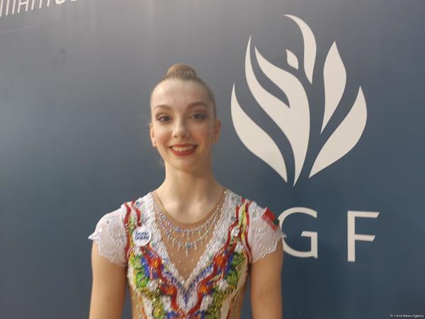 """Belarus gimnastı: """"AGF Junior Trophy"""" turnirində finala çıxmağa ümid edirəm"""""""