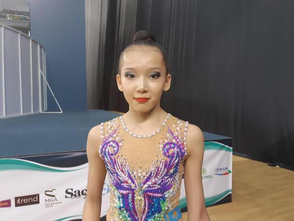 Qazaxıstan gimnastı: Azərbaycan Gimnastika Federasiyası idmançılar üçün lazımi şəraiti yaradıb