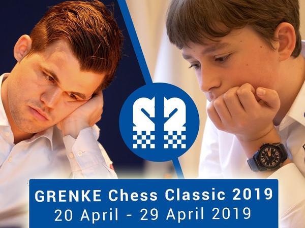 """""""GRENKE Chess Classic 2019"""": <span class=""""color_red""""> Arkadi Naydiç ilk turu heç-heçə ilə başa vurub</span>"""
