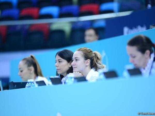 İtaliyalı Sofiya Raffaelli bədii gimanstika üzrə AGF Junior Trophy beynəlxalq turnirində gürzlə hərəkətlərdə birinci yeri tutub