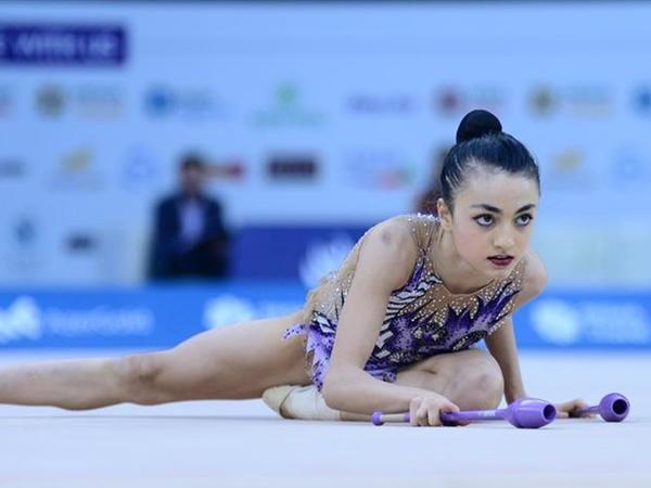 Nərminə Səmədova II AGF Junior Trophy beynəlxalq turnirində gümüş medal qazanıb