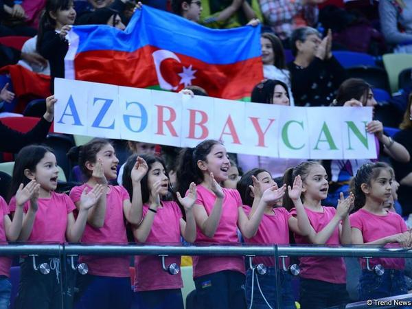 Azərbaycan komandası AGF Junior Trophy beynəlxalq turnirində beş halqa ilə qrup hərəkətlərində qızıl medal qazanıb