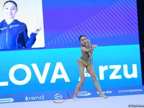 """AGF Junior Trophy-də bürünc medal qazanan Arzu Cəlilova: """"Medal qazandığıma görə şadam"""""""