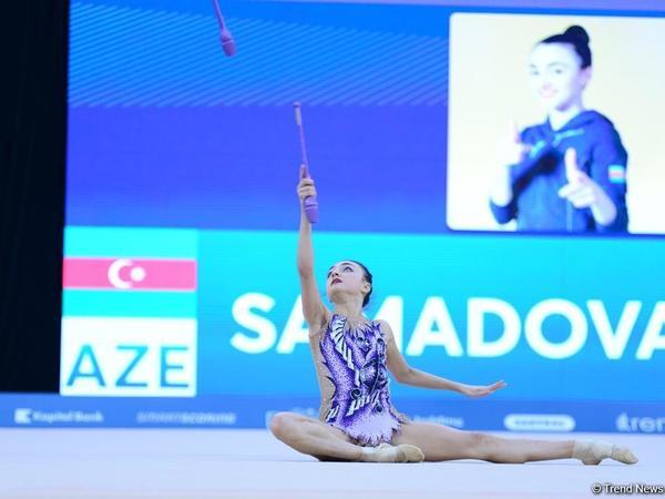 """Azərbaycanlı gimnast Nərminə Səmədova: """"Səhvə yol verməsəydim, birinci yeri tutacaqdım"""""""