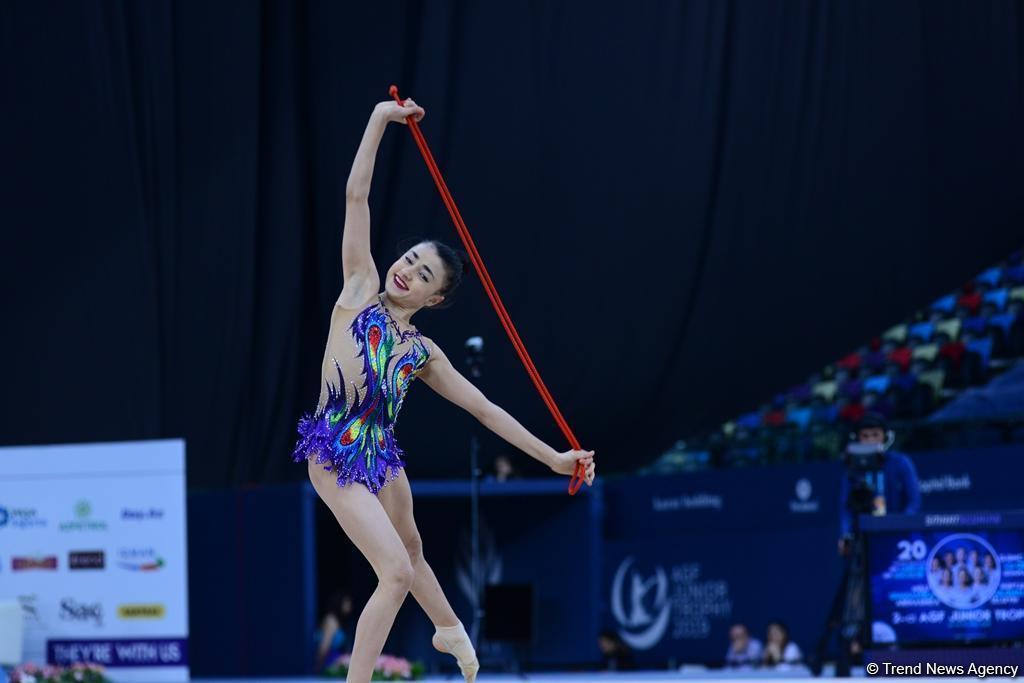 Azərbaycanlı gimnast Bakıda bürünc medal qazandı