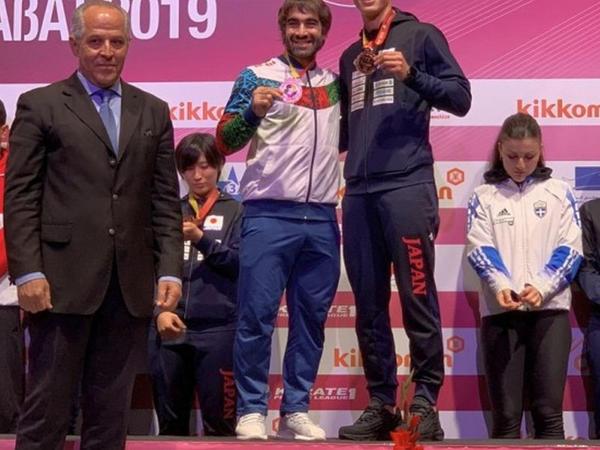 Rafael Ağayevdən bürünc medal
