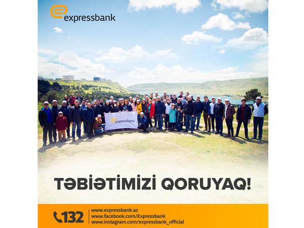 Expressbank təbiətin qorunmasına önəm verir