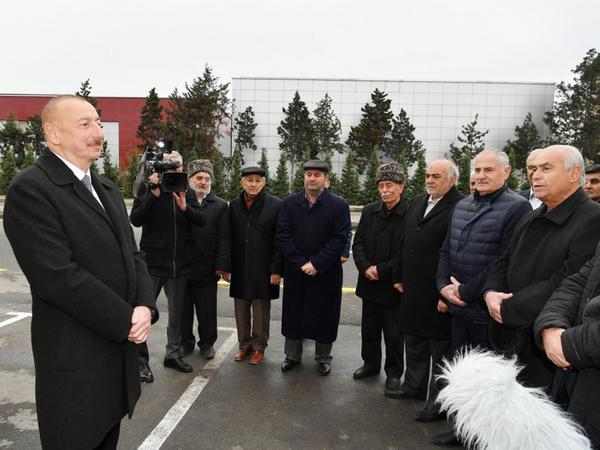 Prezident İlham Əliyev Mərdəkan-Qala avtomobil yolunun açılışında iştirak edib - FOTO