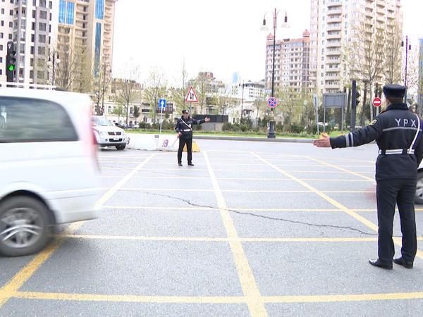 """Yol polisindən sürücü və piyadalara müraciət - <span class=""""color_red"""">FOTO</span>"""