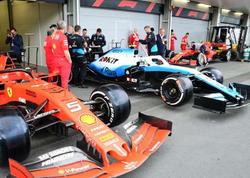 Bakıda Formula 1 bolidlərinin son hazırlıqları - FOTO