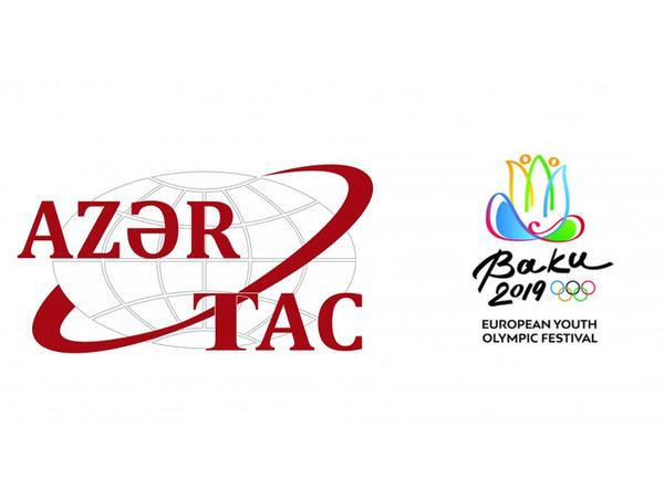 AZƏRTAC 15-ci Avropa Gənclər Yay Olimpiya Festivalının rəsmi media tərəfdaşı olub