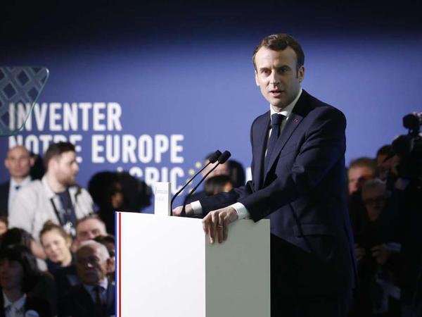 """Makron hücuma keçir: Fransa Prezidenti """"Avropanın xilaskarı"""" rolunda"""