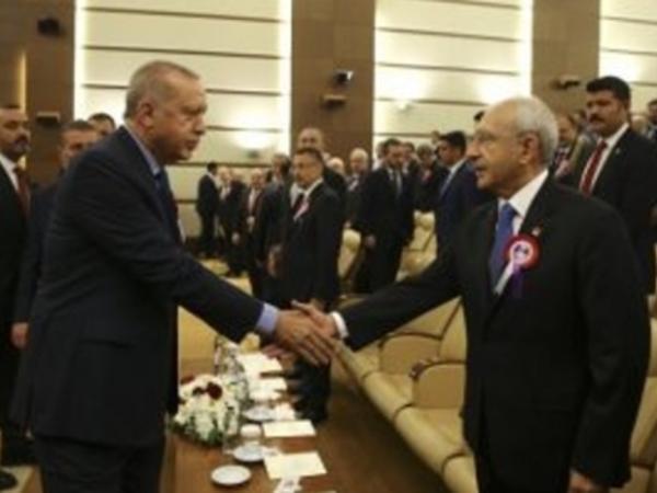 Ərdoğan hücuma məruz qalan Kılıçdaroğlu ilə görüşdü