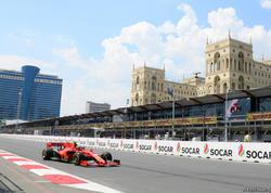 Formula 1 Azərbaycan Qran-Prisinin ikinci sərbəst yürüşü başlayıb