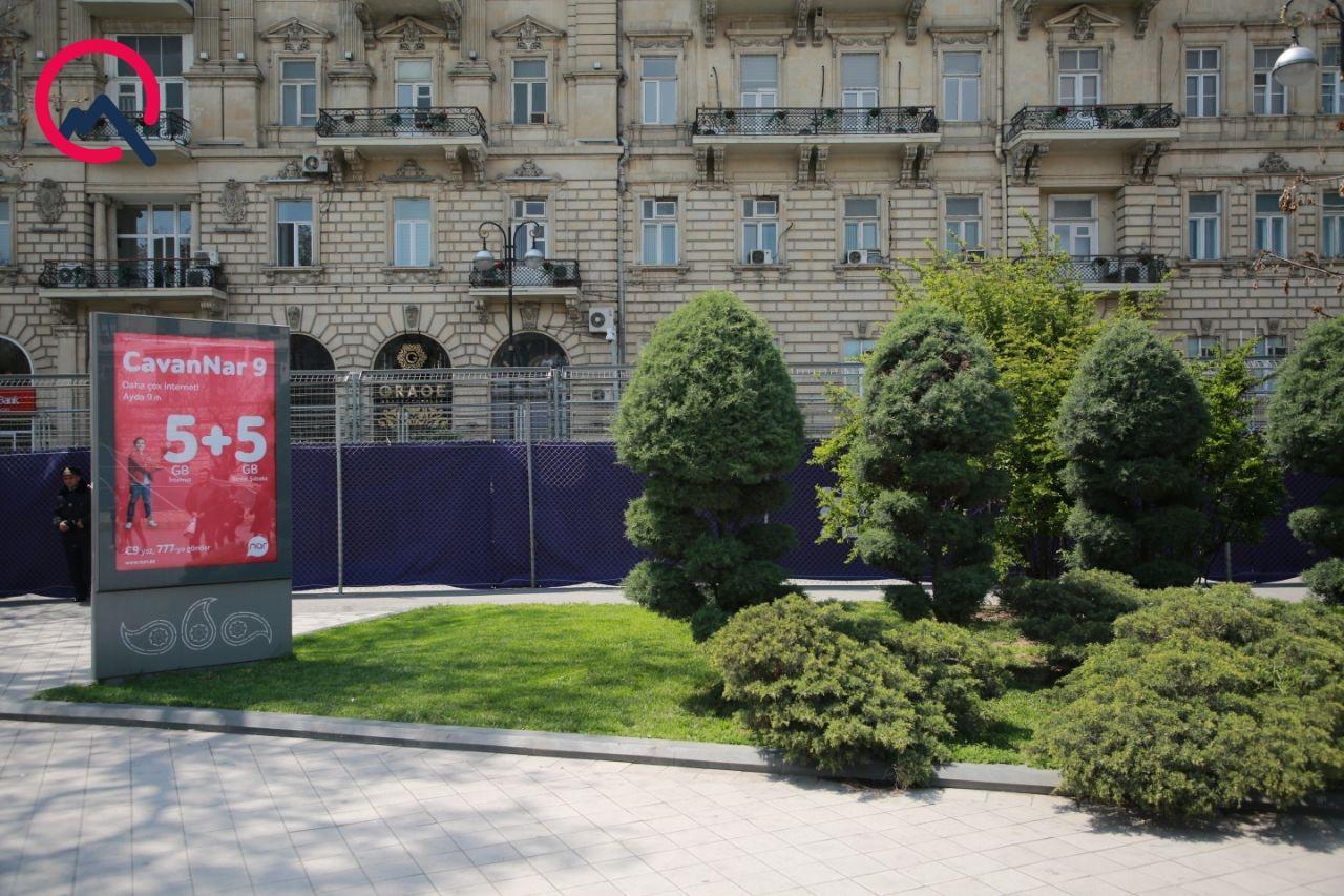 Tağıyevin heykəli üçün seçilən yer - FOTO