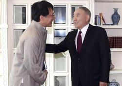 Ceki Çan və Nazarbayev bir arada - FOTO
