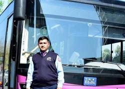 Bakıda avtobus sürücüsü gənc qızı ölümdən qurtardı