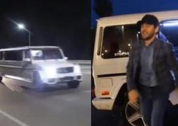 """Üzeyiri Qırğızıstanda """"Limuzin""""lə qarşıladılar - VİDEO"""