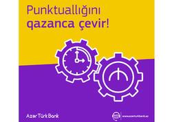 Azər Türk Bank kredit ödənişlərinə СashBack tətbiq edir