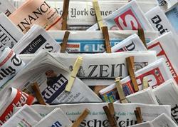 Almaniyada kağız formatda neçə qəzet dərc edilir?