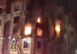 """Nyu-Yorkda yaşayış binasında yanğın: <span class=""""color_red"""">bir ailənin 6 üzvü yanaraq öldü - VİDEO - FOTO</span>"""