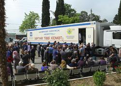 Dövlət Gömrük Komitəsinin Tibbi Xidmət İdarəsi Astarada xeyriyyə aksiyası keçirir - FOTO