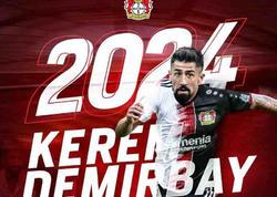 """""""Bayer"""" türk futbolçunu 28 milyon avroya transfer etdi"""