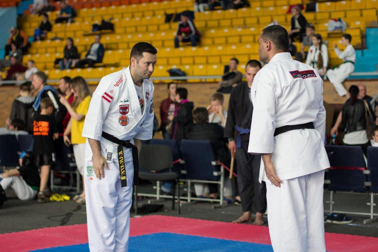 Azərbaycanlı Diaspora sədri Karate üzrə dünya çempionu oldu - FOTO