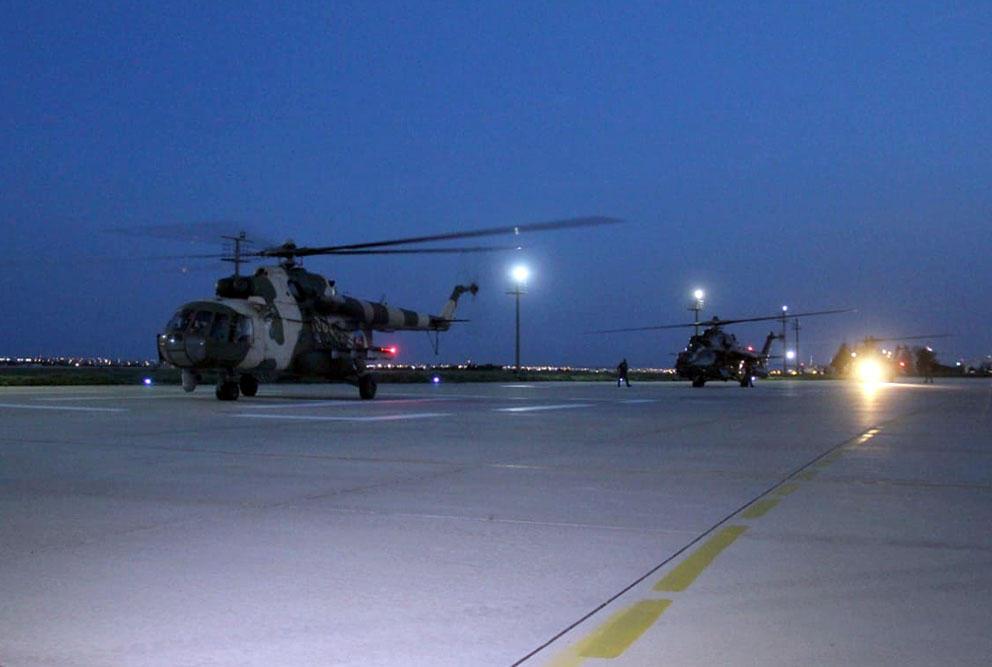 Azərbaycan hərbi helikopterləri Türkiyədədir - VİDEO - FOTO