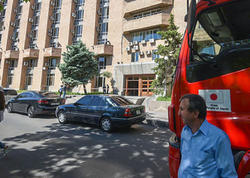 Ermənistanda bomba həyəcanı