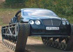 """""""Bentley"""" avtomobilini tanka çevirən bu zəngin kimdir... - <span class=""""color_red"""">VİDEO</span>"""