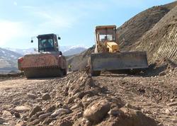Quba-Qonaqkənd avtomobil yolu yenidən qurulur - FOTO